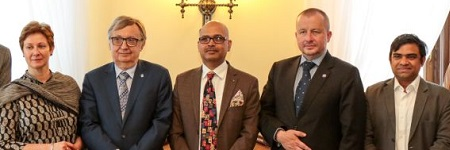 Jagiellonian University visited by Ambassador of Bangladesh