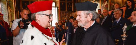 Tad Taube becomes an honorary doctor of the Jagiellonian University
