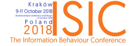 ISIC 2018: The Information Behaviour Conference