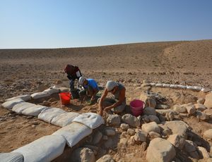 JU archaeologists' pioneer research in Jordan