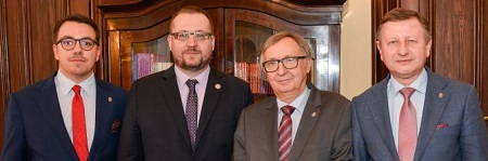 JU visited by the Rector of Comenius University in Bratislava