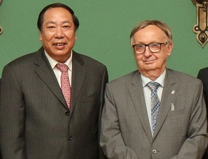JU visited by a delegation from the Chinese Ministry of Education