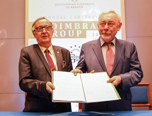 Jagiellonian University signs the Poitiers Declaration