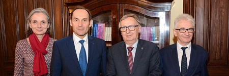 Ambassador of France visits the Jagiellonian University