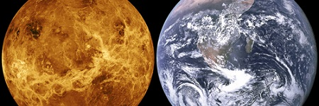 Signs of life in Venus' atmosphere?