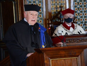 The Jagiellonian University honours an eminent sociologist during  its anniversary celebrations